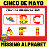 Cinco De Mayo Missing Alphabet Letter - Boom Cards Distance Learning