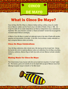 Cinco De Mayo Music Crafts