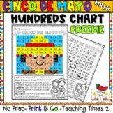 Cinco De Mayo Hundreds Chart   FREEBIE