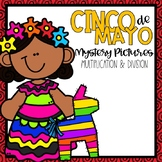 Cinco De Mayo Mystery Pictures-- Multiplication and Divison