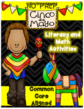 Cinco De Mayo: NO Prep Packet of Fun!