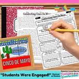Cinco De Mayo: Passage and Questions: Reading Comprehensio