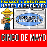 Cinco De Mayo: Passage and Questions: Reading Comprehensio