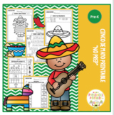 "Cinco De Mayo Printable ""No Prep"""
