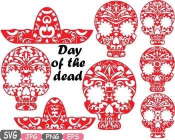 Cinco De Mayo Props Fiesta Mexico Halloween Day of the dead Clipart Pirate -470s