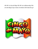 Cinco De Mayo Readers Theater-1st Grade