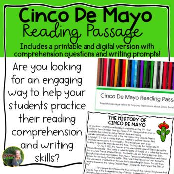 Cinco De Mayo Reading Passage