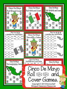 Cinco De Mayo Roll and Cover Games