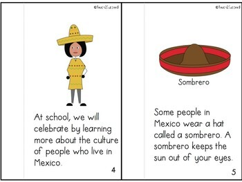 Cinco De Mayo Story for Early Ed and Special Education