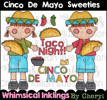 Cinco De Mayo Sweeties Clipart Collection