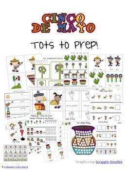 Cinco De Mayo Tots to Prep Pack