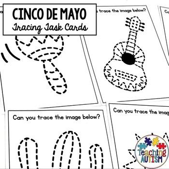 Cinco De Mayo Tracing Task Cards