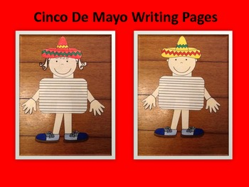 Cinco De Mayo Writing Page