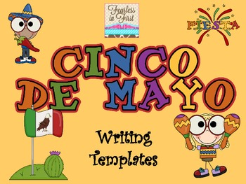 cinco de mayo writing templates by the rustic apple tpt