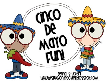 Cinco De Mayo (activity sheets and writing prompts)