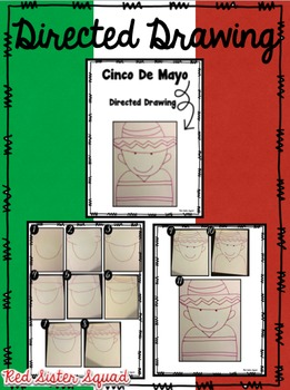 Cinco De Mayo differentiated close read & directed drawing