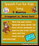 Cinco Monitos Song (Five Little Monkeys song)