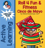 Cinco de May Roll 4 Fun & Fitness Board Game