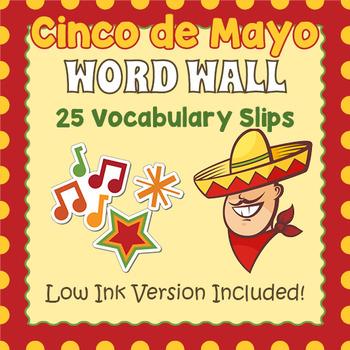 Cinco de May Word Wall