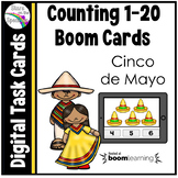 Cinco de Mayo Counting 1 - 20 Boom Cards