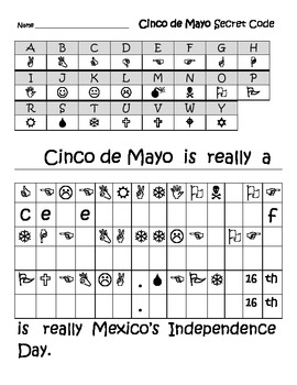 Cinco de Mayo 11 page activity set