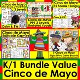 Cinco de Mayo Activities | Bundle Value - 5 Products - Sav
