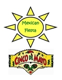 CINCO DE MAYO Word Search & Color Activity