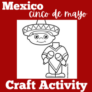 Mexico Craft | Mexico Activity | Cinco de Mayo Craft