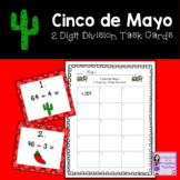Cinco de Mayo 2 Digit by 1 Digit Division Task Cards