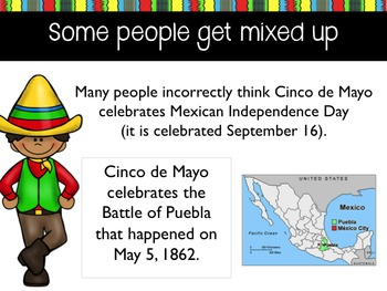 Cinco de Mayo Lesson History & Traditions Powerpoint