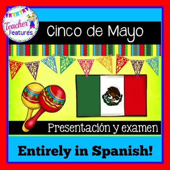 Cinco de Mayo Lesson Spanish History & Traditions Powerpoint