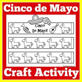 Cinco de Mayo Activity   Cinco de Mayo Craft   Cinco de Mayo Craftivity