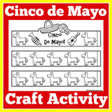 Mexico | Craft Activity | Mexico Worksheet | Cinco de Mayo Craft