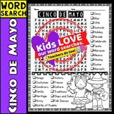 Cinco de Mayo Word Search Activity