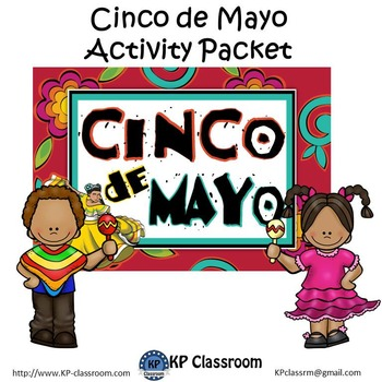 Cinco de Mayo No Prep Activity Packet Printable Worksheets