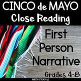 Cinco de Mayo Realistic Fiction Activities | PRINT & DIGITAL | Distance Learning