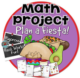 Math Project: Plan a Fiesta (3rd, 4th, & 5th grade)
