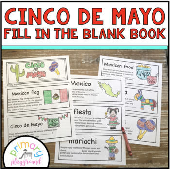 Cinco de Mayo Fill in the Blank Book