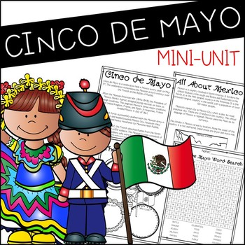 Cinco de Mayo Mini-Unit - Reading Passage, Graphic Organizer, and Activities
