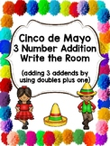 Cinco de Mayo 3 Number Addition