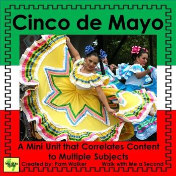 Cinco de Mayo Activities for 1st, 2nd, 3rd Grade