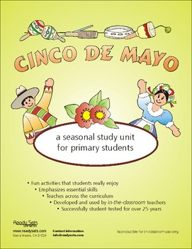 Cinco de Mayo 32-Page Thematic Lesson Plans Booklet