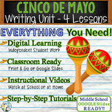 Cinco de Mayo Writing BUNDLE! - Argumentative Persuasive Expository Narrative