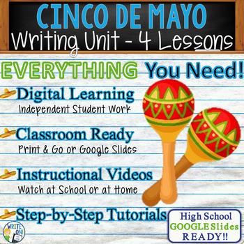 Cinco de Mayo Writing BUNDLE! - Argumentative, Persuasive, Expository, Narrative