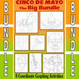 Cinco de Mayo - 8 Coordinate Graphing Activities - The Big Bundle
