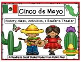 Cinco de Mayo Activities, Maps, Informational Reading, & Craftivity!
