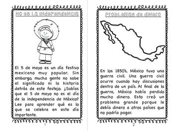 Cinco de Mayo: A Teaching Book! EN ESPAÑOL