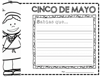 Cinco de Mayo: A Teaching Book! EN ESPAÑOL