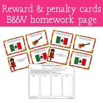 Cinco de Mayo - A WH- Questions Game