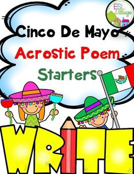 Cinco de Mayo {Acrostic Poems Templates}